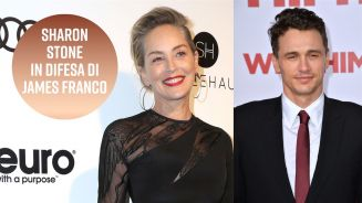 Sharon Stone contro le accuse a James Franco
