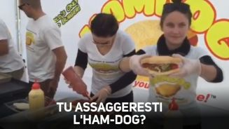 Fast food love: hamburger e hot dog nello stesso panino
